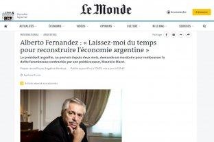 """Alberto Fernández pidió """"tiempo para recuperar"""" la economía"""