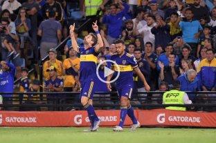 Boca le ganó a Atlético Tucumán y alcanzó a River en la cima de la Superliga