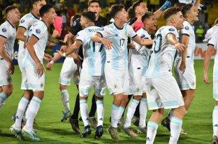 Sub 23: con el título y la clasificación a Tokio en el bolsillo, Argentina juega con Brasil