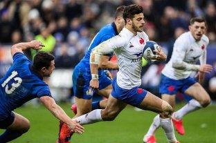 Francia mantuvo su paso ganador ante Italia en el Seis Naciones
