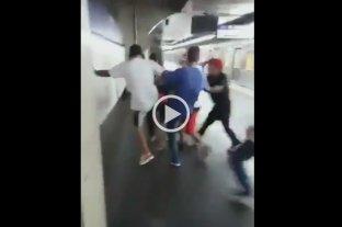 Video: Hinchas de Corinthians y San Pablo se enfrentaron en una batalla campal