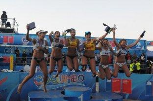 Beach voley: plata y bronce para Argentina