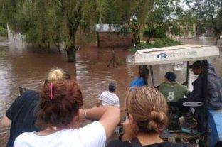 Las intensas lluvias en Tucumán dejaron 76 evacuados y localidades aisladas