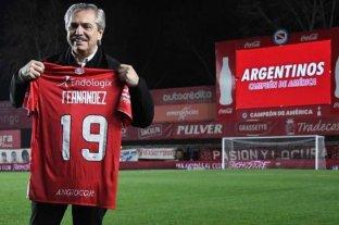 """Alberto Fernández: """"Soy crítico de cómo funciona el fútbol, es poco transparente"""""""