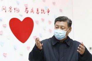 """Xi Jinping se mostró con barbijo y dijo que el coronavirus es un """"demonio"""""""