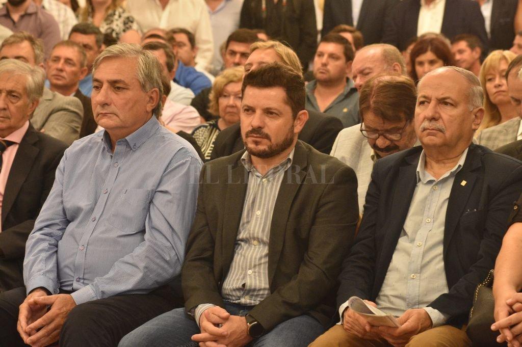 El senador por La Capital, Marcos Castelló pidió por actividad portuaria en Santa Fe.  Crédito: Mauricio Garín