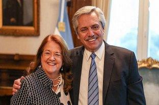 Alberto Fernández recibió a la futura embajadora en Rusia