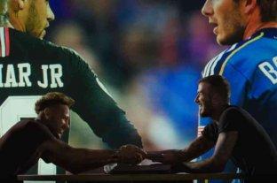 Neymar se comprometió a jugar en el Inter de Miami de David Beckham