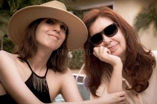 Cristina Kirchner publicó una foto con su hija Florencia
