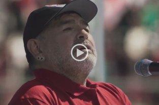 """Video: Maradona y su gran participación en la serie """"Puerta 7"""" de Netflix"""