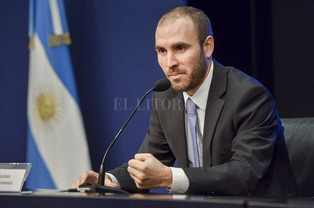 Martin Guzmán, ministro de Economía de la Nación. Crédito: NA