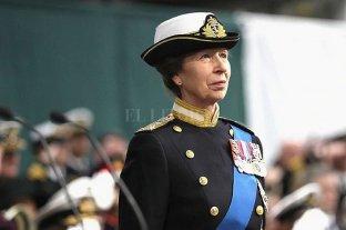 La princesa Ana será la nueva capitana general de la Marina Real británica