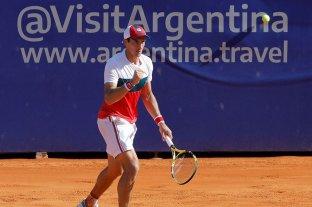 El santafesino Bagnis avanzó a octavos de final en el Argentina Open