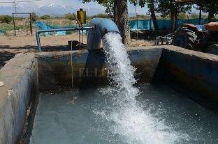 Mendoza subsidiará la energía eléctrica de 64 pozos de agua subterránea