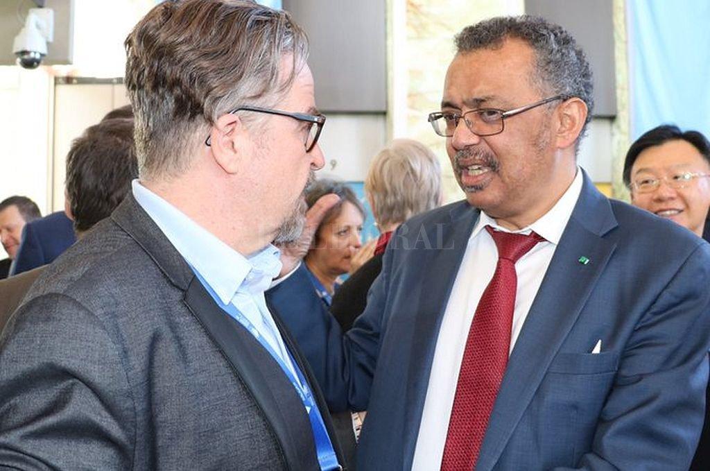 Tedros Adhanom Ghebreyesus, director general de la OMS. <strong>Foto:</strong> @DrTedros