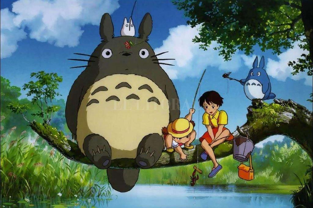 """""""Mi vecino Totoro"""" (1988) una de las obras más queridas de Miyasaki. <strong>Foto:</strong> Archivo El Litoral / Studio Ghibli"""