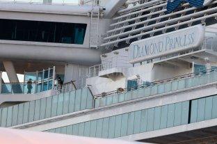 Confirman 40 nuevos casos de coronavirus en el crucero varado en Japón