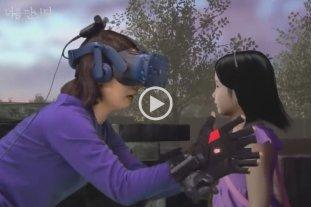 Video: una madre se encontró con su hija muerta gracias a la realidad virtual