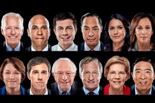 Estos son los 12 demócratas que buscan la candidatura presidencial