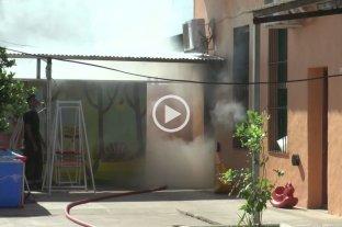 Se incendió una habitación en un hogar de niños de barrio Sur