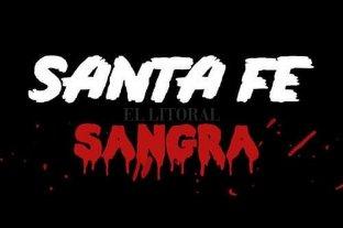 """Inseguridad: santafesinos autoconvocados invitan a la marcha """"Santa Fe Sangra"""""""
