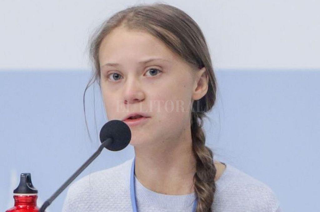 Greta Thunberg. Joven activista sueca contra la crisis climática. Crédito: Archivo El Litoral
