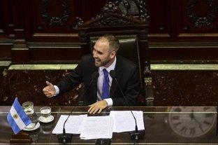 """Guzmán: """"En la renegociación de la deuda, la sociedad argentina está primero"""""""