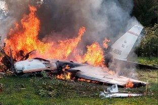 Cuatro muertos por la caída de una avioneta en Colombia