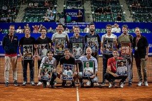 Gaudio, Coria, Nalbandian fueron reconocidos en los 20 años del Argentina Open