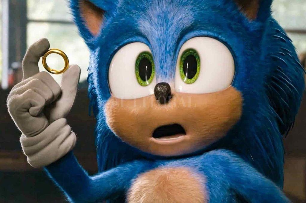 Sonic, el personaje de ficción, protagonista de la saga de videojuegos del mismo nombre y la mascota de la compañía Sega, protagoniza ahora una película.  Crédito: Paramount Pictures