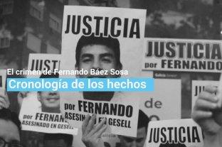 Cronología del crimen de Fernando Báez Sosa en Villa Gesell