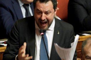 """Salvini se defiende de la acusación por secuestro de personas: """"Lo hice para salvar a la Patria"""""""