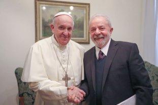 Francisco recibió a Lula en el Vaticano