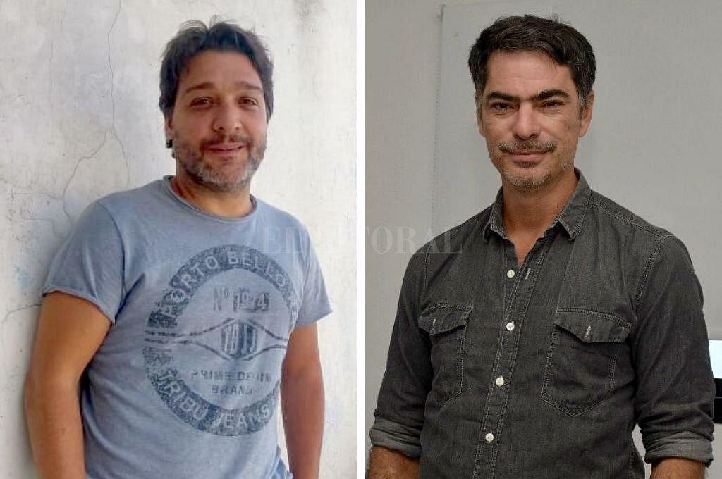 Mariano Pereyra Esteban y Estanislao Giménez Corte. <strong>Foto:</strong> Gentileza