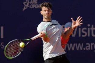 Lóndero reaccionó a tiempo y avanzó a los cuartos de final del Argentina Open