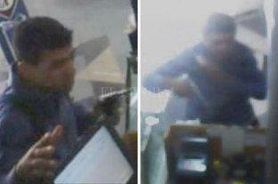 Videos: asaltó dos panaderías en apenas diez minutos