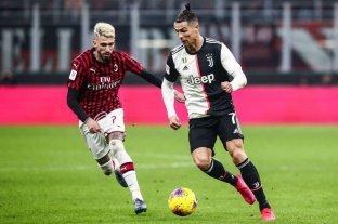 Juventus rescató un empate contra Milan en la semifinal de la Copa de Italia