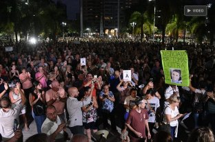 """""""Santa Fe Sangra"""": autoconvocados marcharon por el crimen de Hugo Oldani"""
