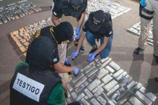 Seis detenidos con más de 300 kilos de marihuana en Córdoba