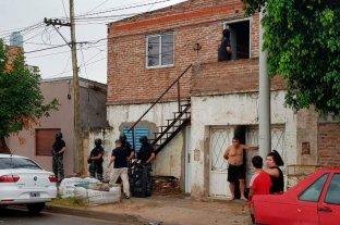 Allanamientos en barrio San Lorenzo