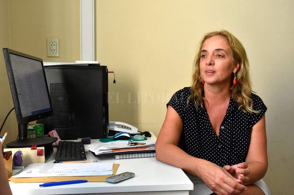 Carolina Cudós, directora provincial de Epidemiología del Ministerio de Salud. Crédito: Mauricio Garín.
