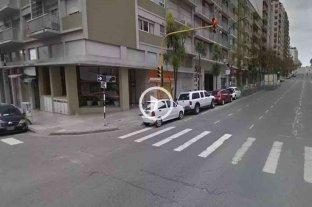 Video: una nena fue atropellada por un chico de 15 años en Mar del Plata