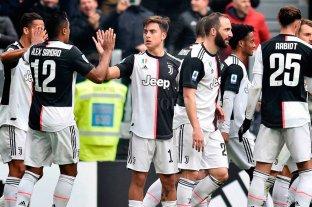 Con gol de Dybala, la Juventus sigue como lider de la Serie A