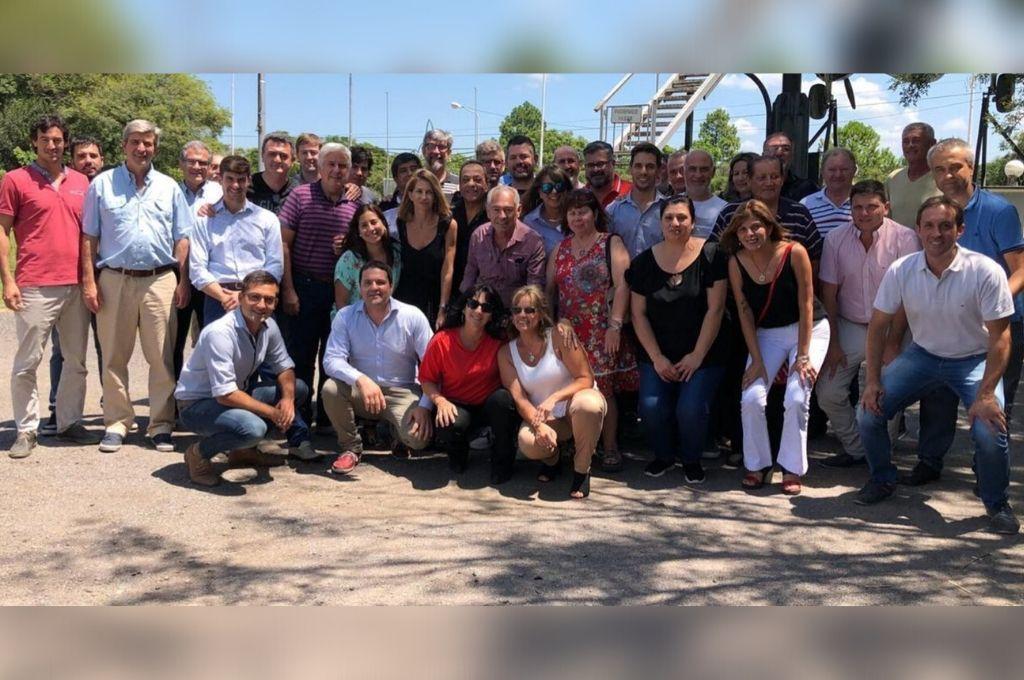 Dirigentes del radicalismo se reunieron en Rafaela, en una jornada de trabajo para abordar la problemática y generar propuestas. Crédito: Gentileza