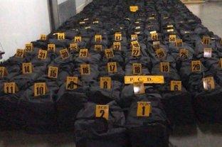 Costa Rica: decomisaron el mayor cargamento de droga de su historia