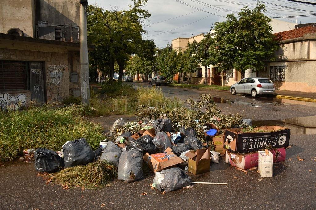 Esquina. Es un barrio residencial, pero con un punto olvidado. Crédito: Mauricio Garín
