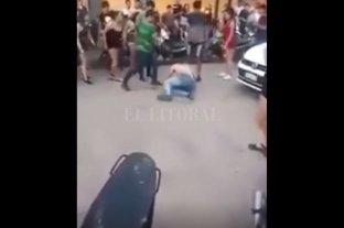 Video: otro joven fue brutalmente golpeado a la salida de un boliche, esta vez en Chaco -  -