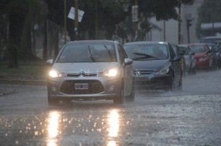 Alerta en Santa Fe por tormentas intensas -  -