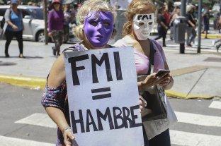 Movimientos sociales e izquierda contra el FMI, pero con diferencias