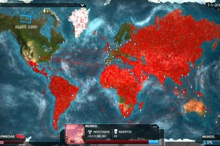 Furor por un juego que permite crear una epidemia como el coronavirus